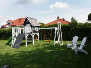 Tym razem o drewnianych domkach dla dzieci